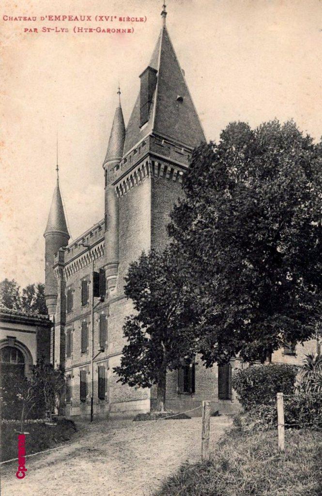 Chateau empeaux xvi